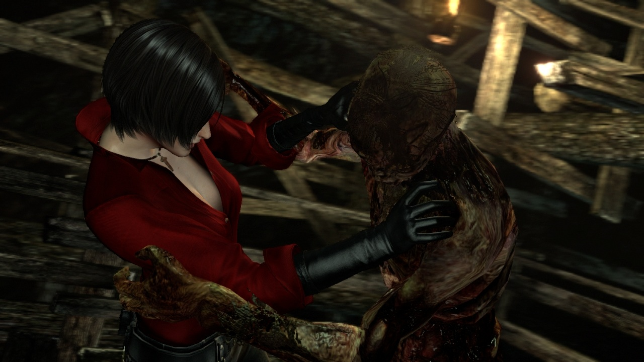 Ada Wong's unlockable campaign comes the closest to actually capturing the survival horror feeling of past <em>Resident Evil</em> games.
