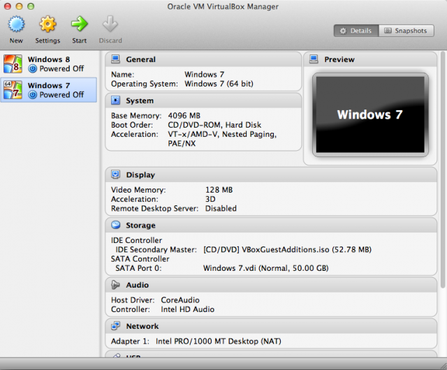 VirtualBox looks much the same today as it always has.