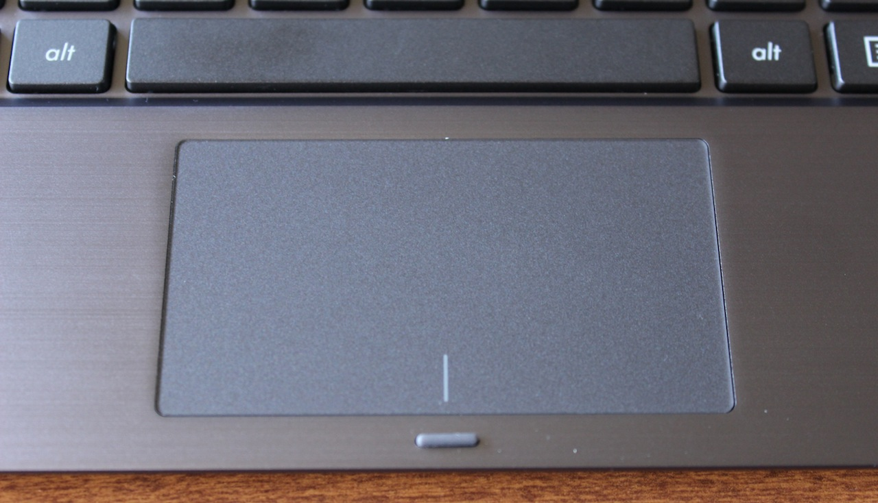 The trackpad is consistent and accurate, but is missing support for Windows' new gestures.