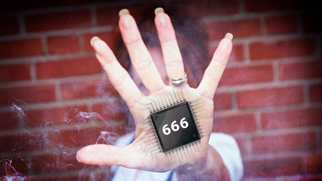 "666 chip? Why a Texas student thinks her school ID is the ""Mark of the Beast"""