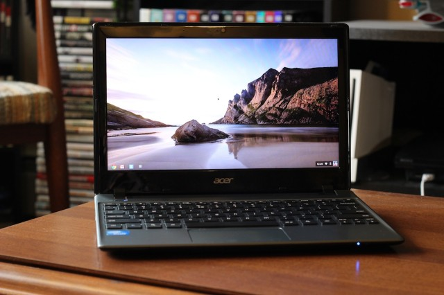 Flawed, but cheap: Acer's C7 Chromebook.