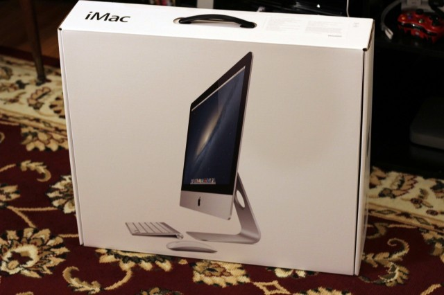 The new iMac is here, and we're going to unbox the hell out of it.