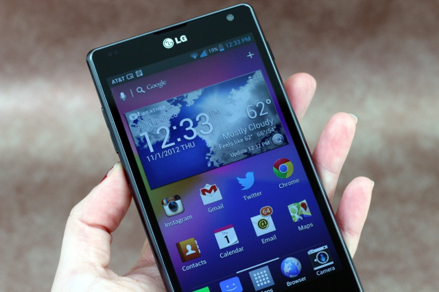 Beauty and brains: the LG Optimus G reviewed