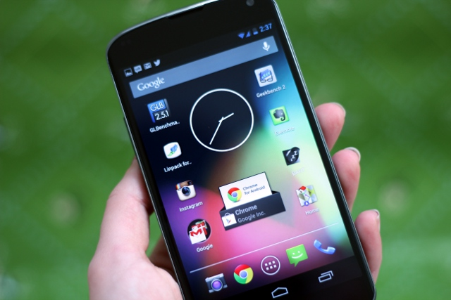 Nexus 4—two-thirds of a great phone