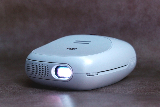 The projector is rated at 60 lumens.