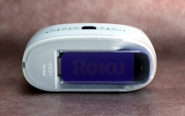 ...Or you can snap in the Roku streaming stick to start watching movies and television available through services like Hulu, Netflix, and Amazon Instant Video.
