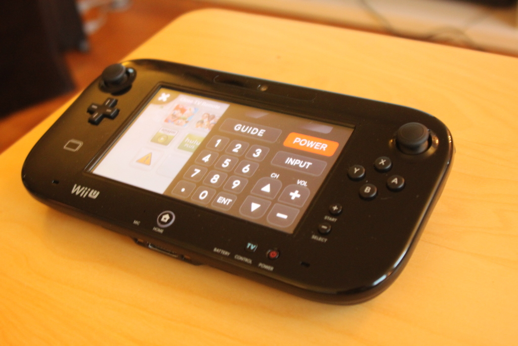 Oh yeah, the GamePad is also a bulky, limited TV remote control.