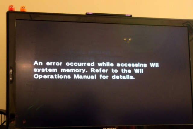 how nintendo drm trapped 400 of downloaded games on my failing wii rh arstechnica com Wii Disc Read Error Wii Disc Read Error