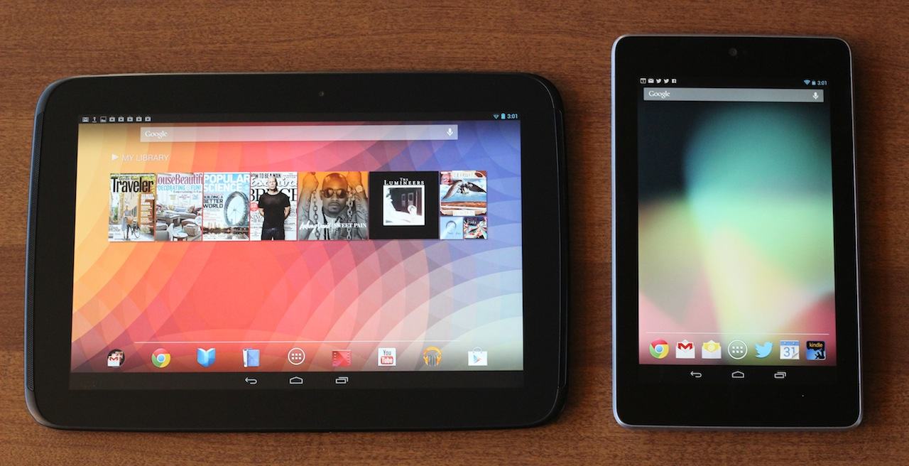 The Nexus tablet contenders.