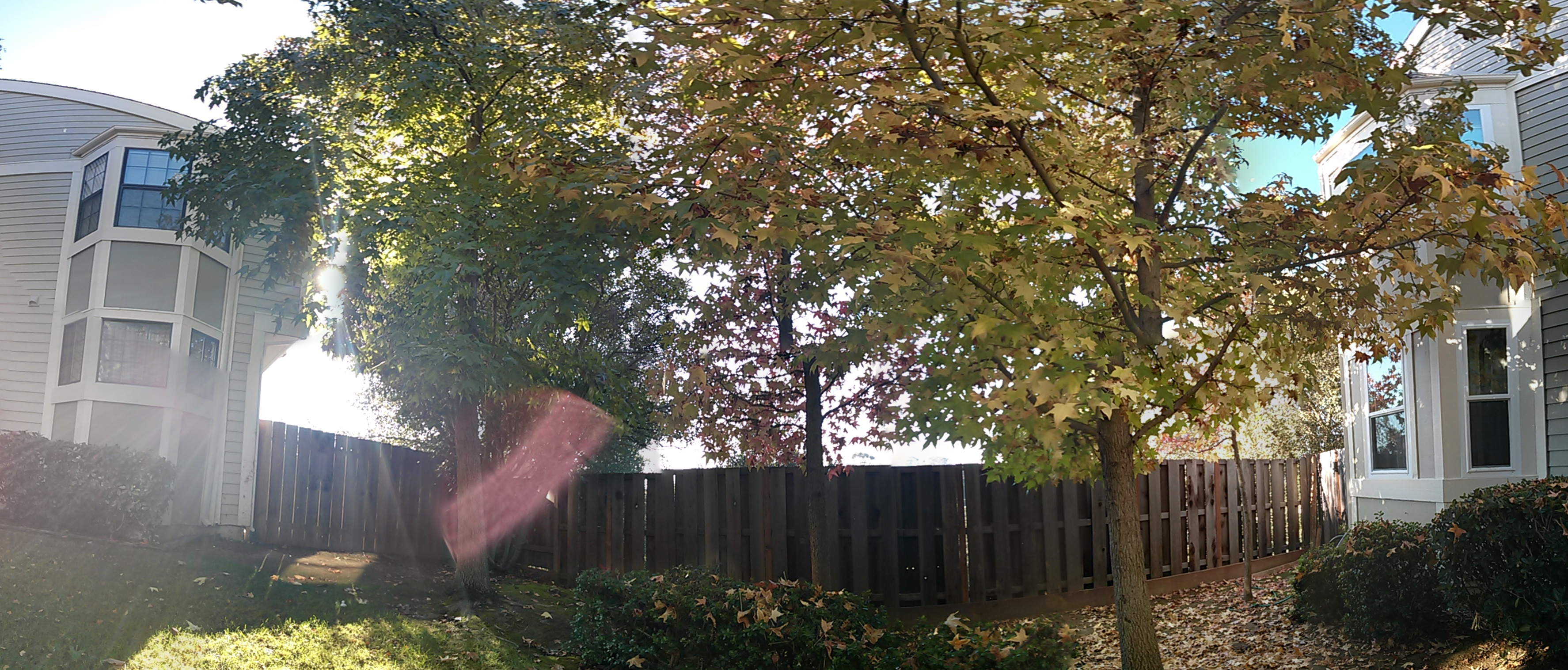 However, Photo Sphere takes very nice looking, scenic panoramic photos outside.