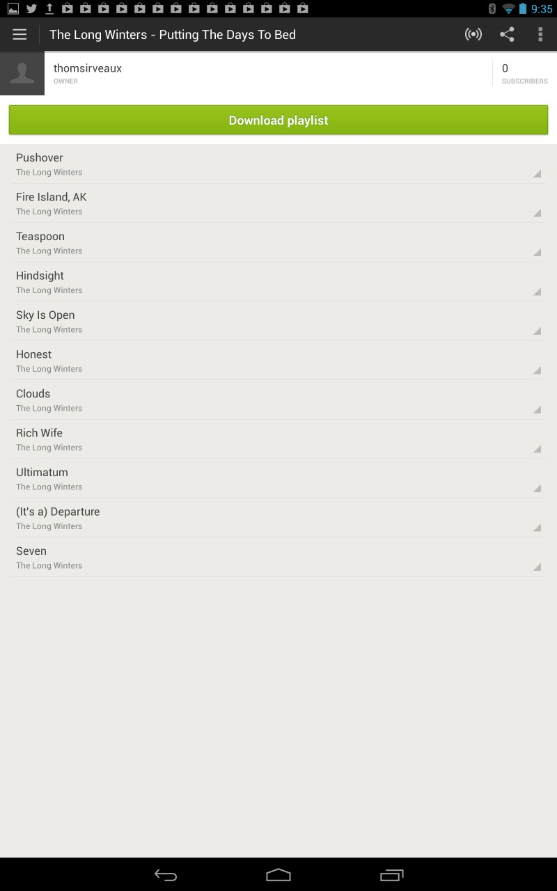 Ditto Spotify, which doesn't even work in landscape mode. The list goes on.