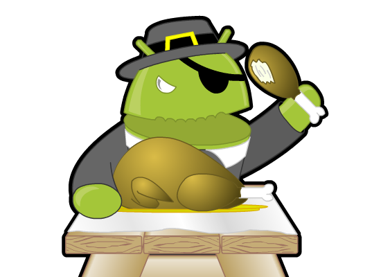 Android app feast: The it's-almost-Thanksgiving edition