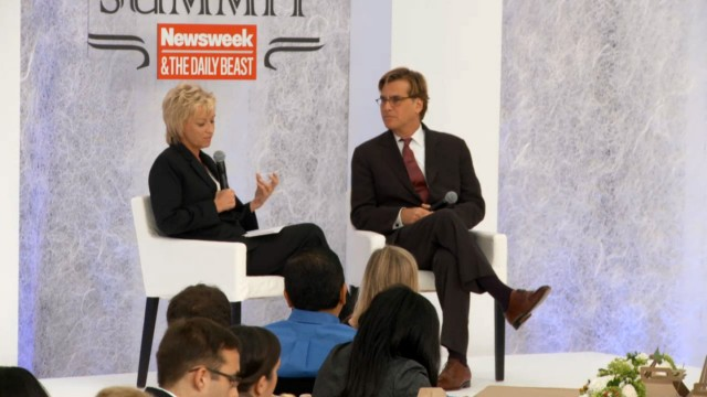 Aaron Sorkin discusses how we depict heroes in TV and movies at The Hero Summit.