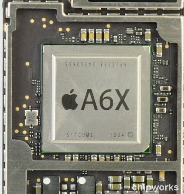 The fourth-generation iPad's new GPU is a quad-core monster