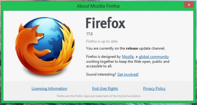 Firefox 17 is more social and secure, but doesn't care for leopards