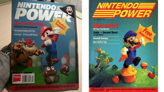 Final Nintendo Power cover brings the magazine full circle