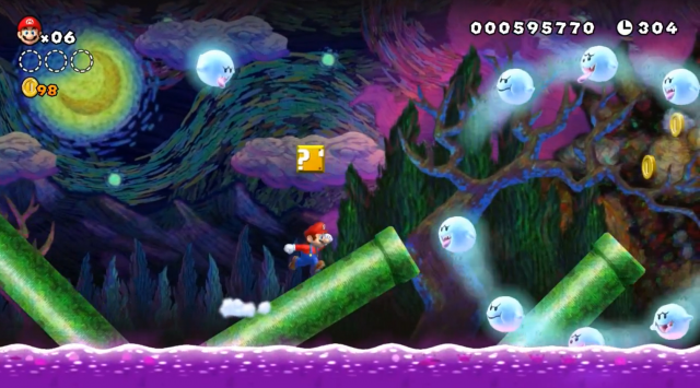 New super mario bros u review the best 2d mario in decades ars inventive challenging levels and gamepad boost mode make for an instant classic gumiabroncs Gallery