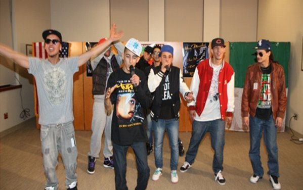 Rap's appeal extends to the US embassy in Algeria.