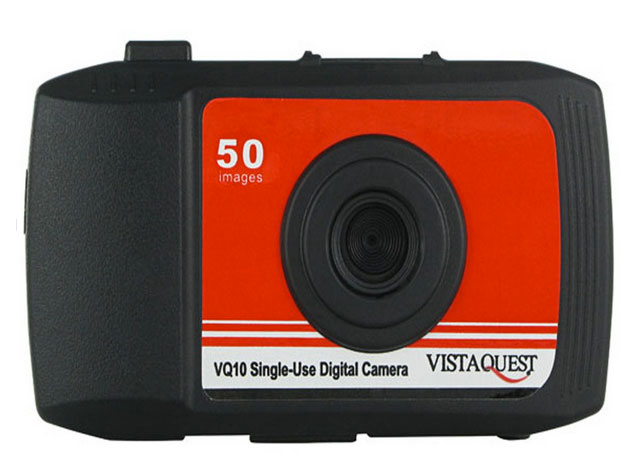 VistaQuest VQ10 disposable digital camera review
