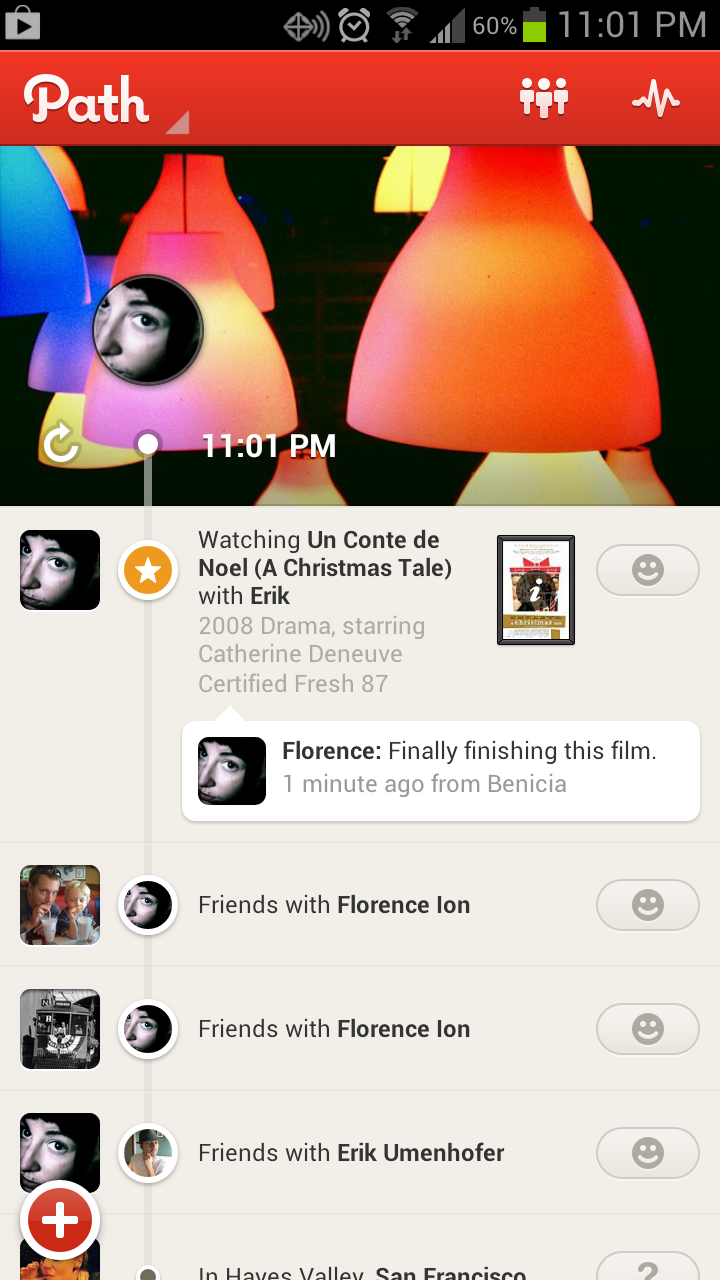 Path is an attractive alternative to Facebook and Twitter.