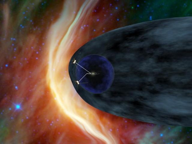 The Voyagers have both reached the heliosheath at the edge of the Solar System, but Voyager 1 has hit a region of it we didn't know was there.