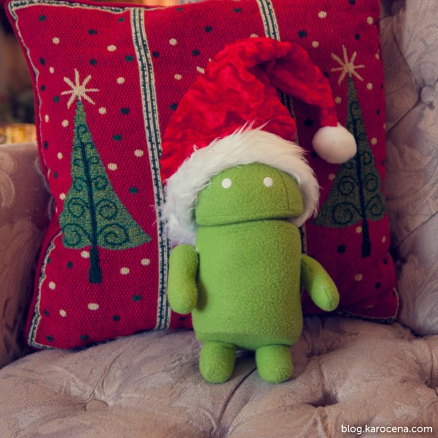 There's nothing like a new Android for the holidays.