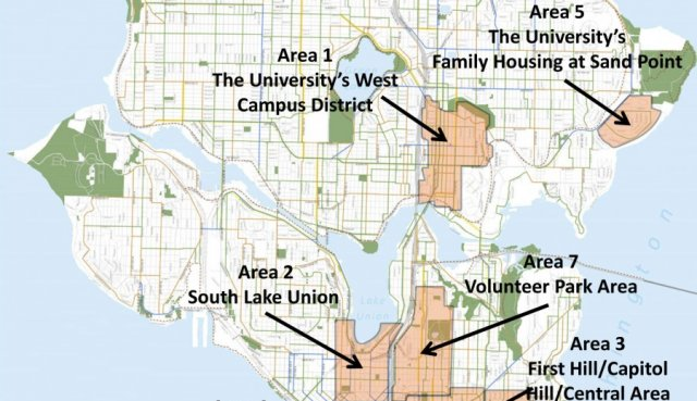 This map only shows some parts of the city that Seattle Gigabit aims to serve.