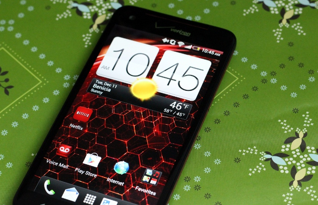 HTC's Droid DNA is quite a looker.
