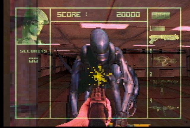 <em>Aliens Vs. Predator</em> on Jaguar. I wanted to play this SO BAD.