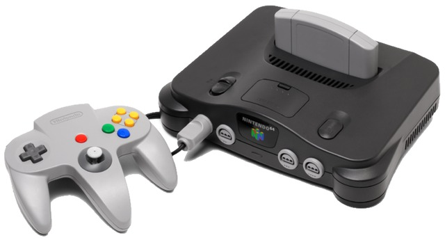 "The Nintendo 64, known before launch as the ""Ultra 64."""