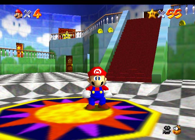 <em>Super Mario 64</em>, which could have been subtitled <em>Mario Wins Every Video Game Award Ever.</em>