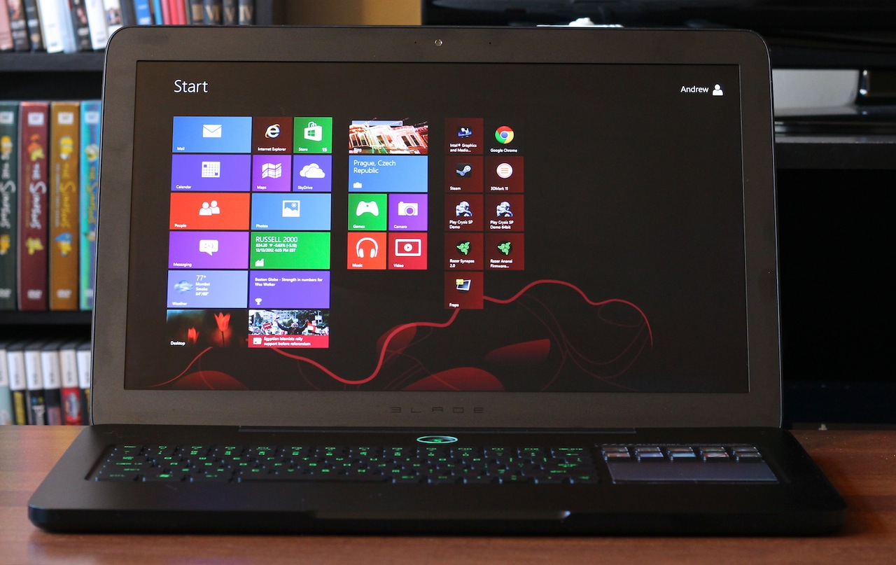 The second-generation Razer Blade.