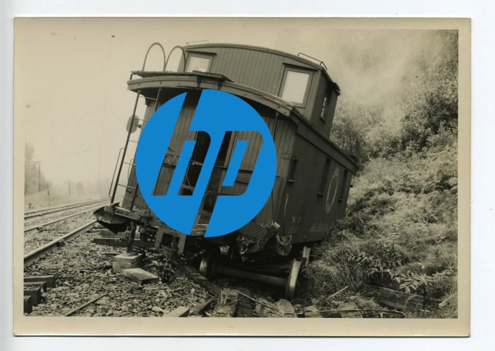 There may be a new engineer at HP, but the crazy train has already run off the rails.
