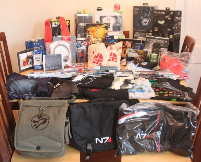 Just some of the prizes you could win by donating!