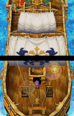 The remake looks nice enough, but is still limited by the DS's capabilities.