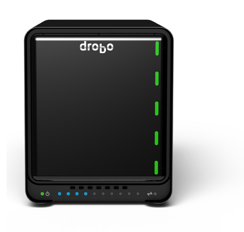 The five bay Drobo 5N.