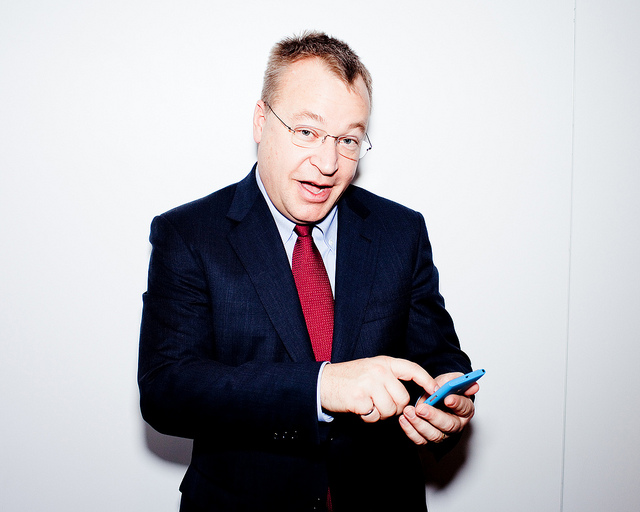 Nokia CEO Stephen Elop.