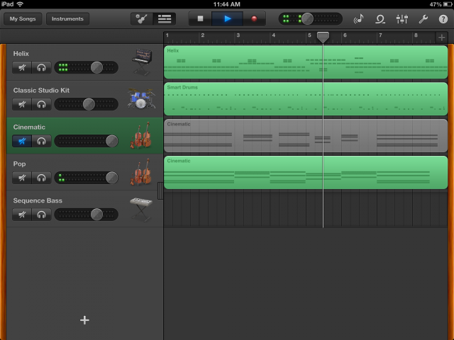 "Even casual users can eke out hours of fun out of GarageBand's collection of virtual ""smart"" instruments."