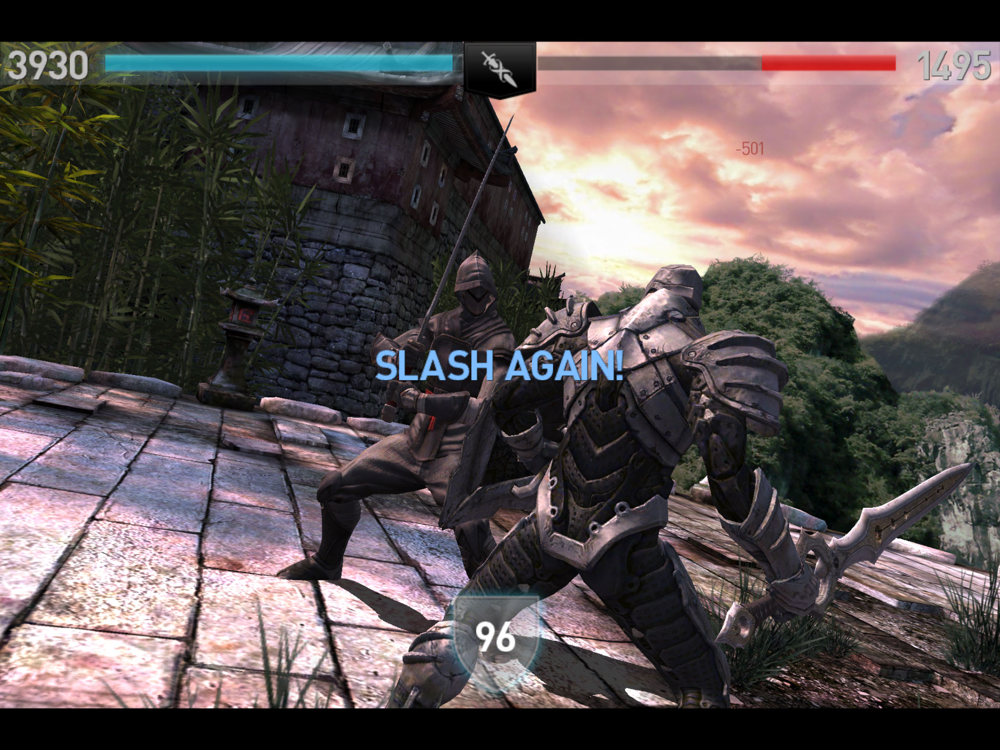 Slash and hack your way through this second installment of the Infinity Blade series.