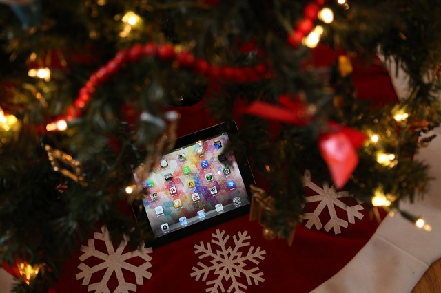 Was there an iPad under your tree this year?