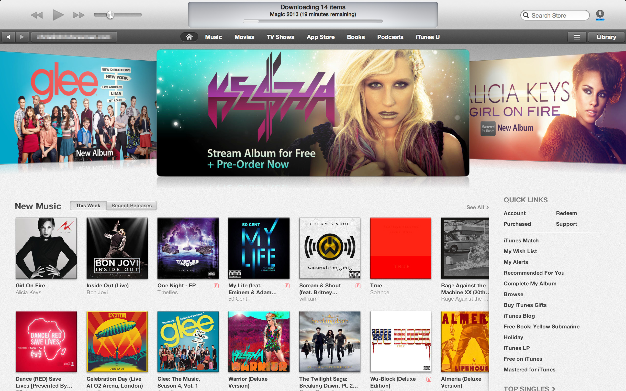 The iTunes Store now mimics the layout seen in iOS 6, for better or worse.