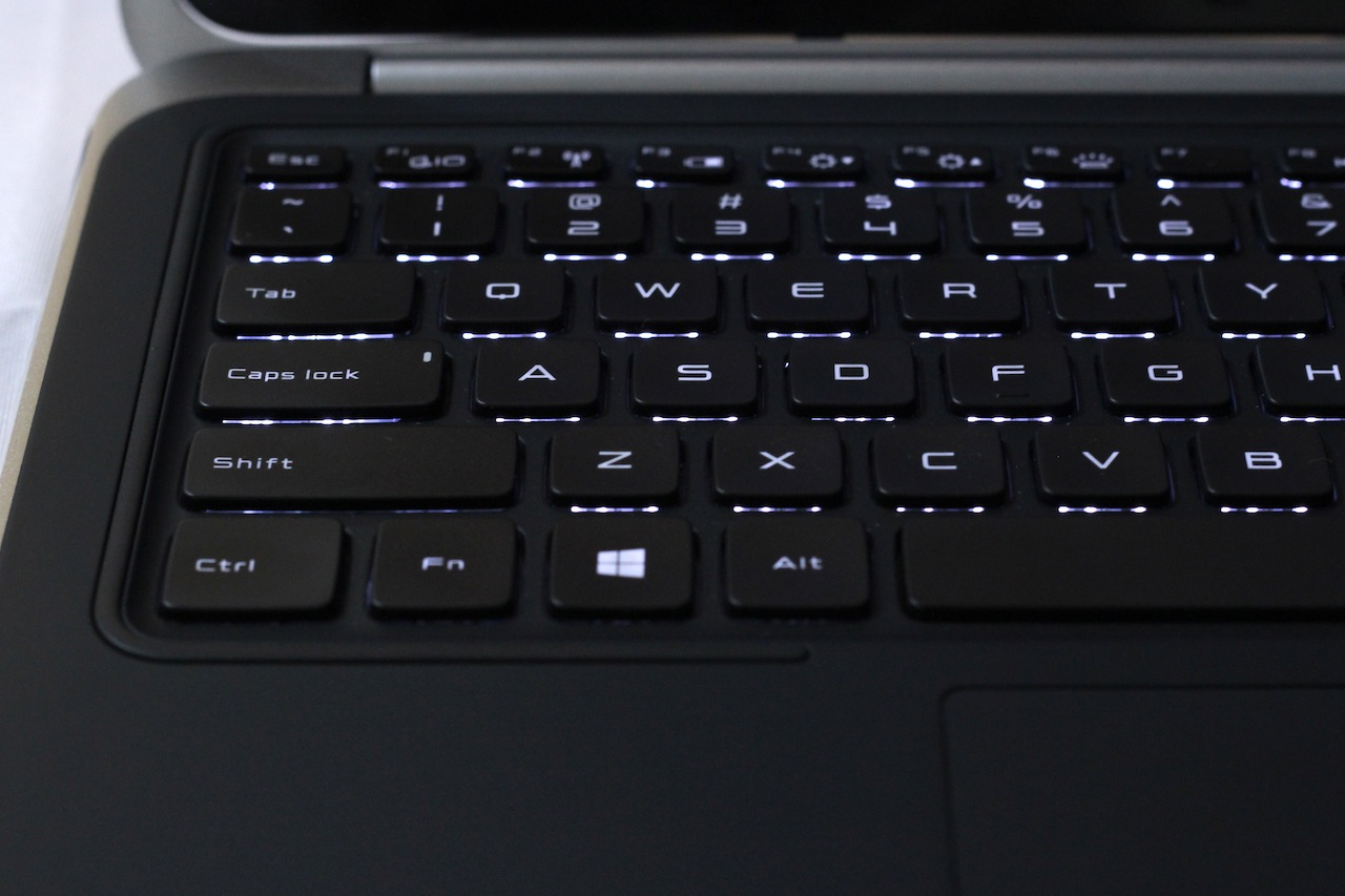 We can't oversell the importance of a good keyboard, and the XPS 12 gets it right.