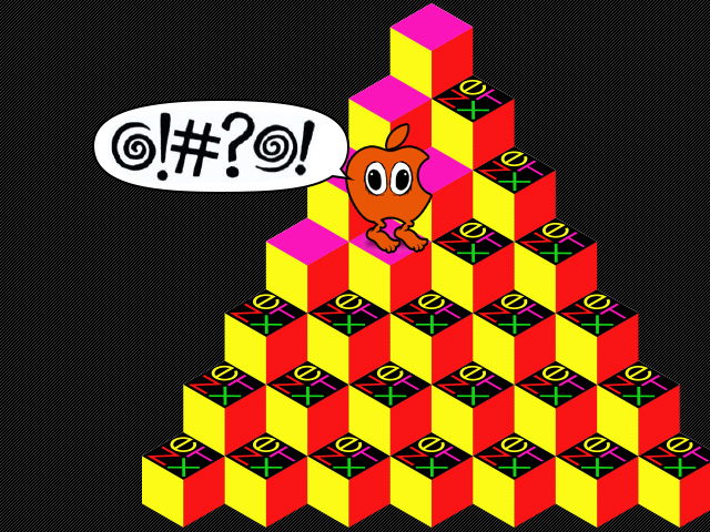 Admittedly, I would've happily played an Apple/NeXT Q*bert knock-off.