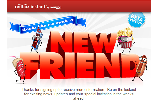 Redbox Instant now taking sign-ups for private beta access