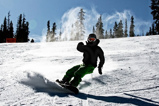Haptic snowboard teaches you the slopes