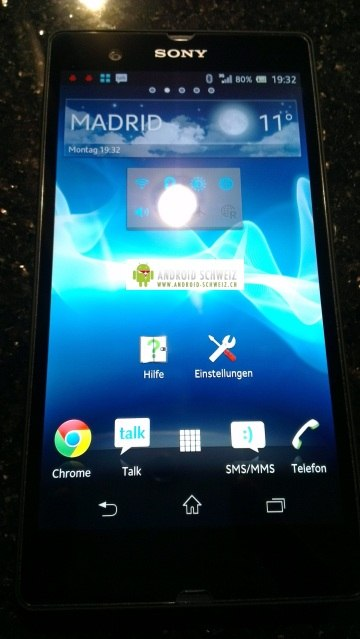 A shot of the rumored Xperia L36h.