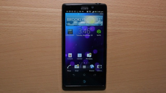 The Sony Xperia TL will get a Jelly Bean update in February, but others are being left behind.
