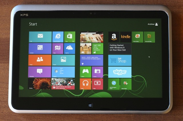 The XPS isn't a perfect tablet, but it's usable, and that's a step up from most convertibles.