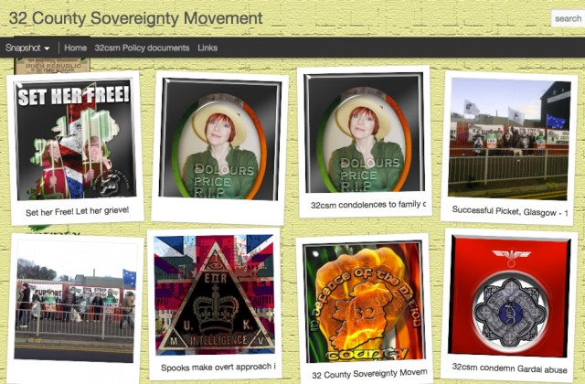 "Under CleanIT's rules, the Irish ultra-nationalist ""32 County Sovereignty Movement"" site (an alias of the terrorist group the ""Real IRA"") couldn't be touched, as it's hosted in the US."