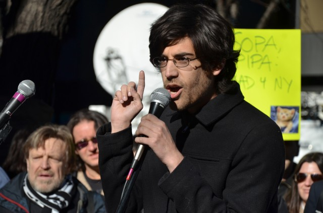 Aaron Swartz makes the case against the Stop Online Piracy Act on January 18, 2012.